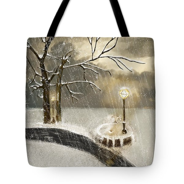 Oh Let It Snow Let It Snow Tote Bag by Angela A Stanton