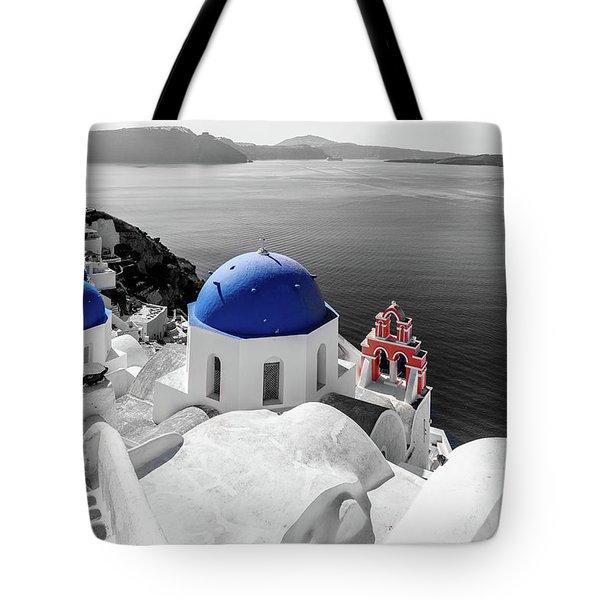 Oia, Santorini - Greece. Tote Bag