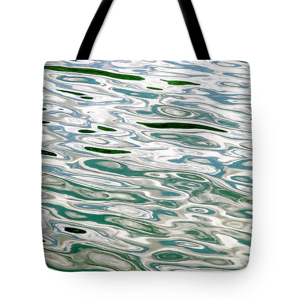 Tote Bag featuring the photograph Oil On The Fjord by KG Thienemann