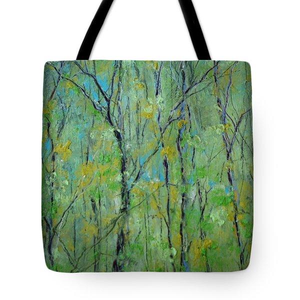 Awakening Of Spring Tote Bag
