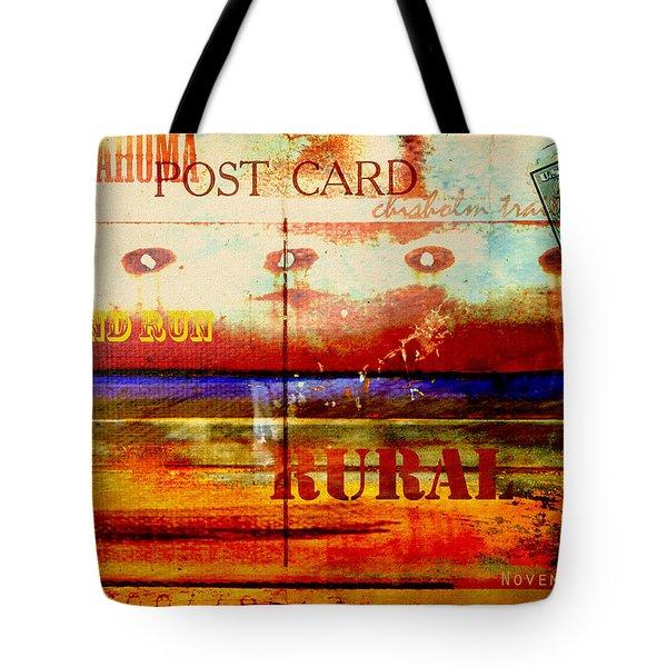 Oklahoma  Tote Bag by Toni Hopper