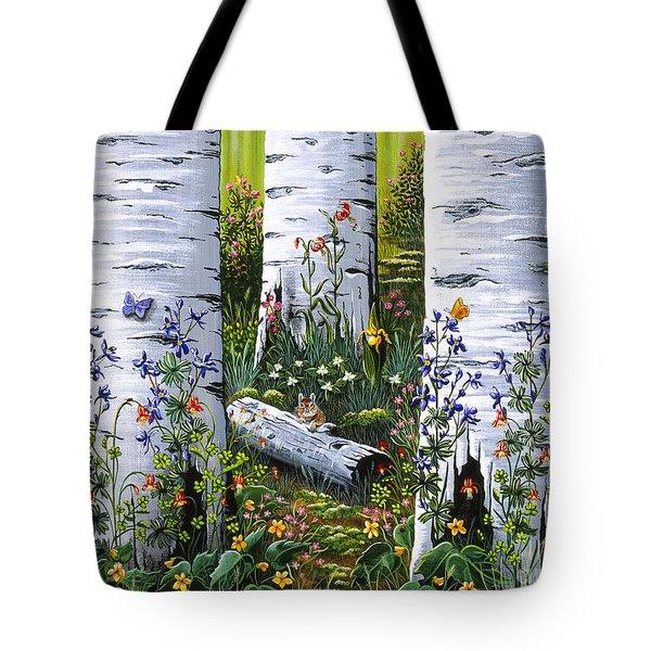 Old Aspen Grove Tote Bag