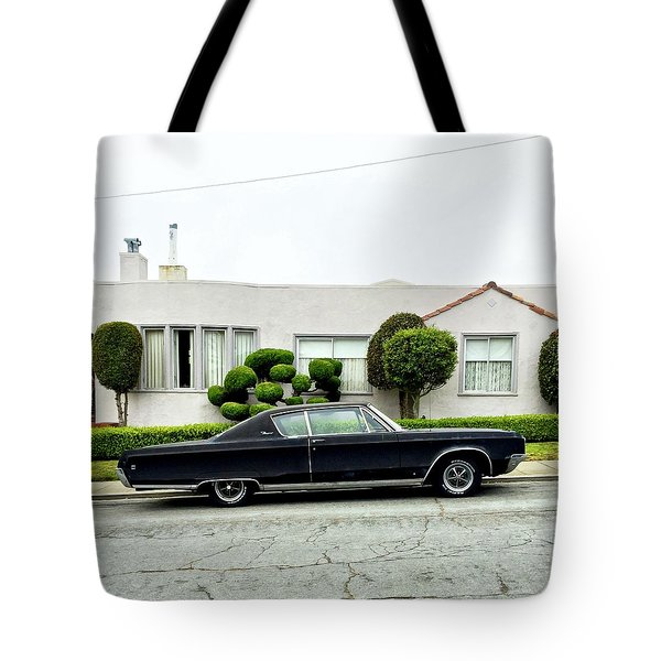Old Car Tote Bag by Julie Gebhardt