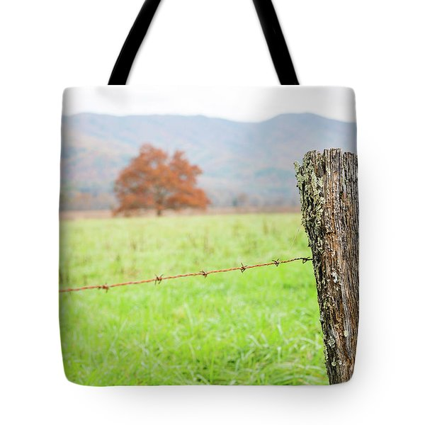 The Old Fence Post Tote Bag