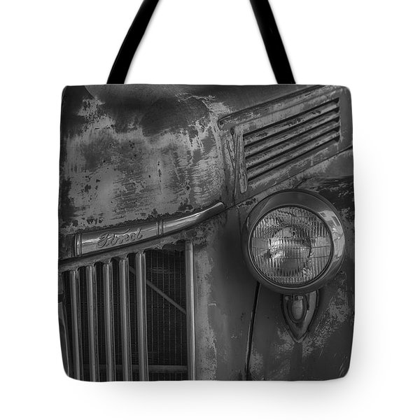 Old Ford Pickup Tote Bag by Garry Gay