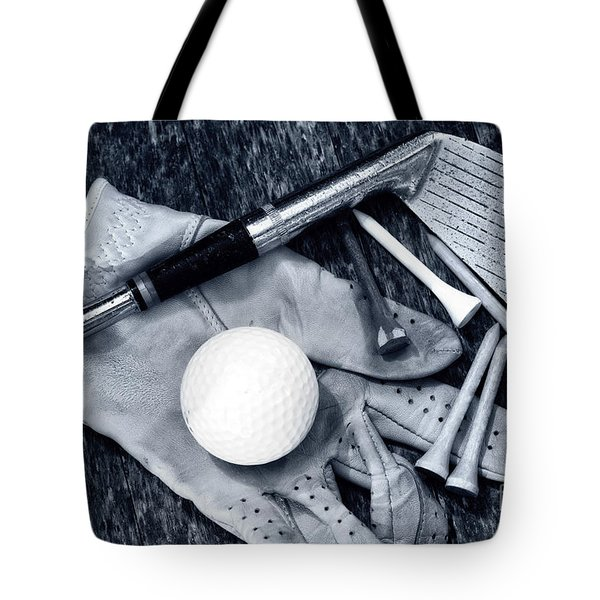 Old Golf Days Tote Bag by Charline Xia