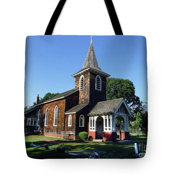 Old Grace Church Massapequa  Tote Bag