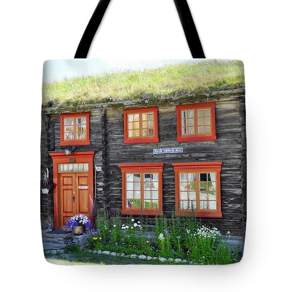 Old House Tote Bag by Thomas M Pikolin