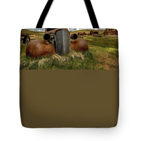 Old Jalopy Bodie State Park Tote Bag