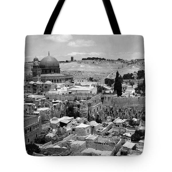 Old Jerusalem Tote Bag