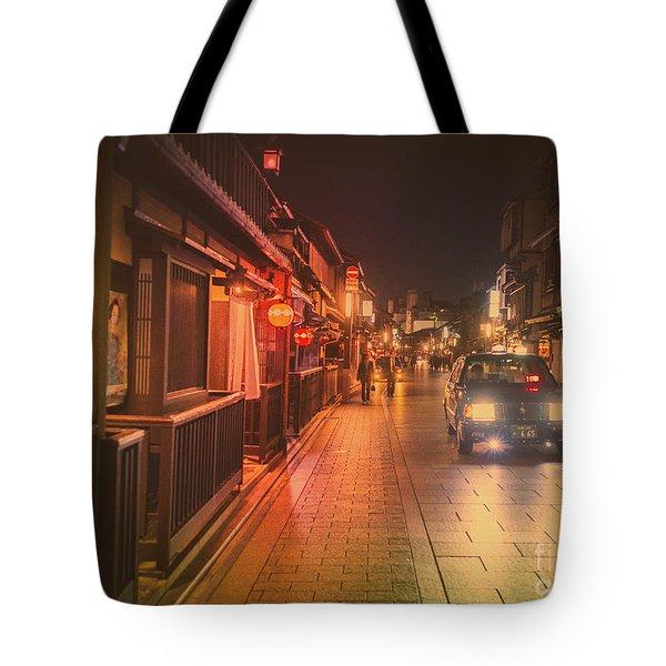 Old Kyoto, Gion Japan Tote Bag