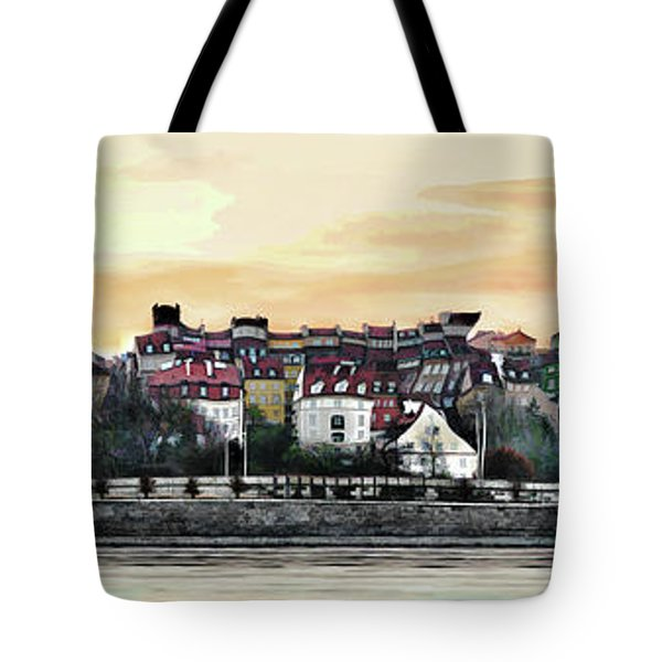 Old Town In Warsaw #16 Tote Bag