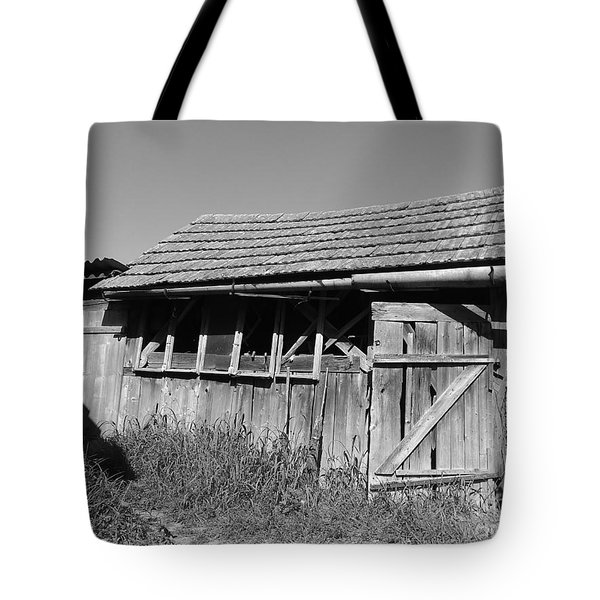 Old Workshop Tote Bag