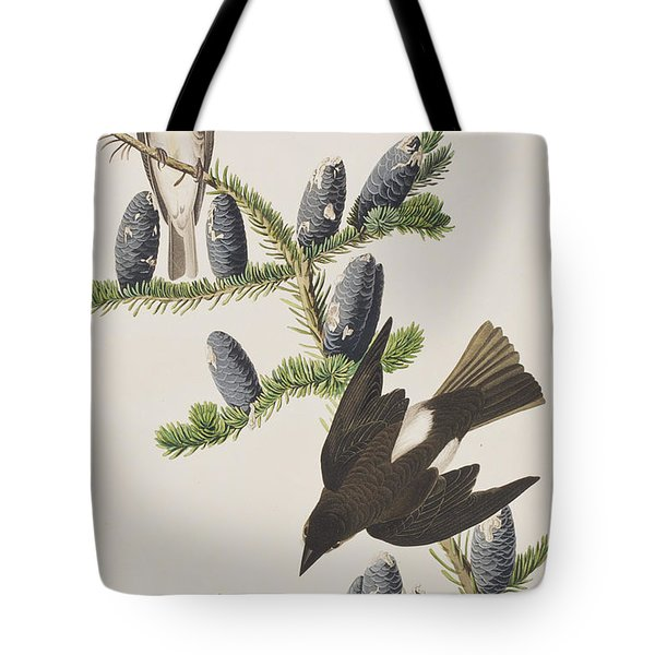 Olive Sided Flycatcher Tote Bag by John James Audubon