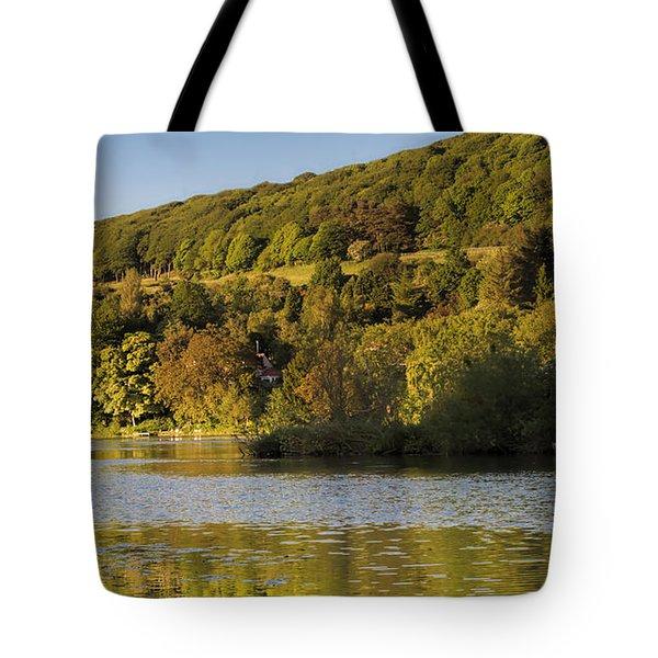 Olivers Mount Tote Bag by David  Hollingworth