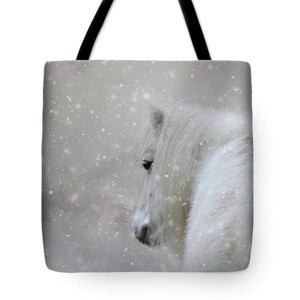 On A Cold Winter Day Tote Bag