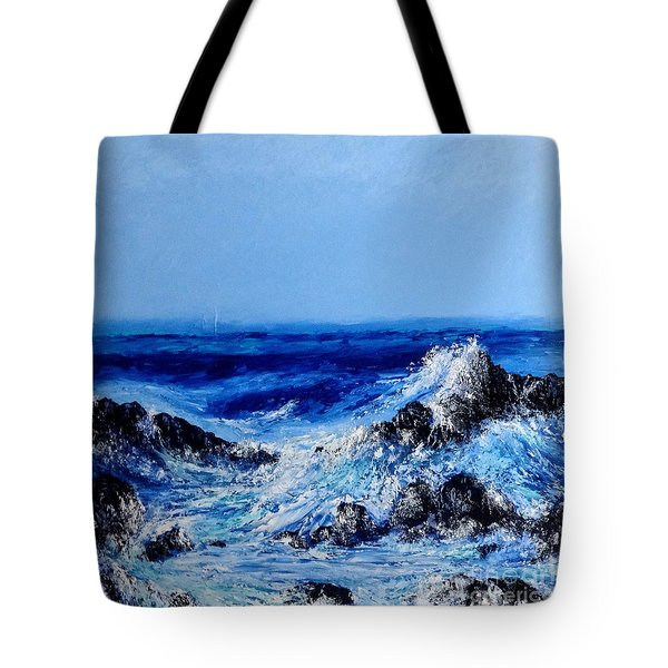 Keanae Point  Tote Bag
