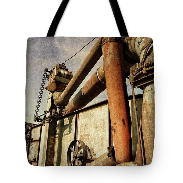 Tote Bag featuring the photograph On The Farm by Michelle Calkins