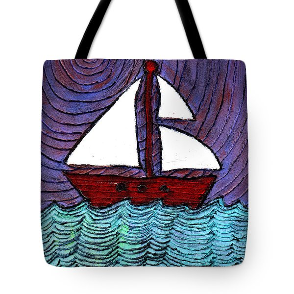 On The River Tote Bag by Wayne Potrafka