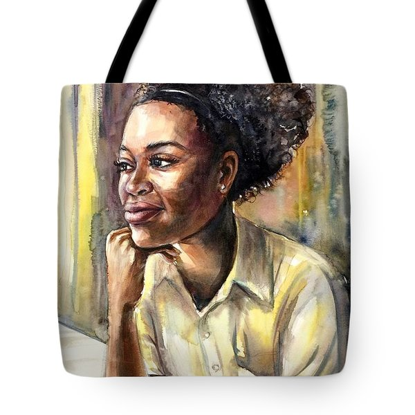 On The Window Tote Bag