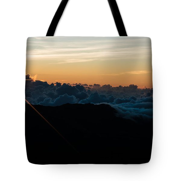 Tote Bag featuring the photograph On Top Of The World by Colleen Coccia