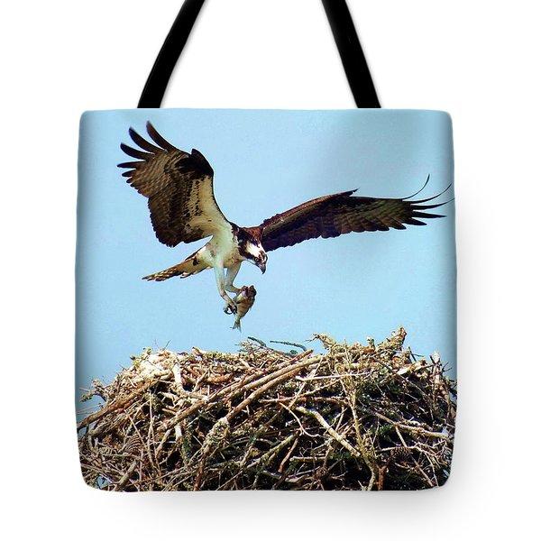 Open Wings Tote Bag by Karen Wiles