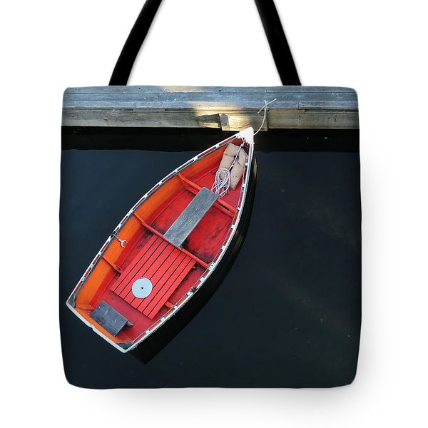 Orange Dinghy Tote Bag