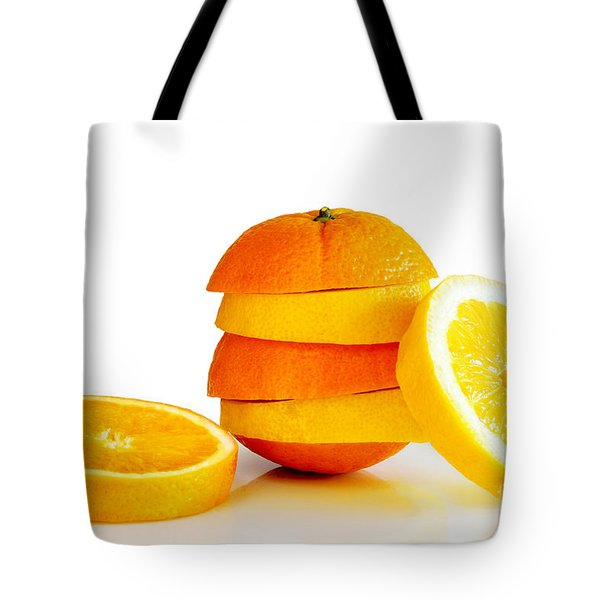 Oranje Lemon Tote Bag by Carlos Caetano