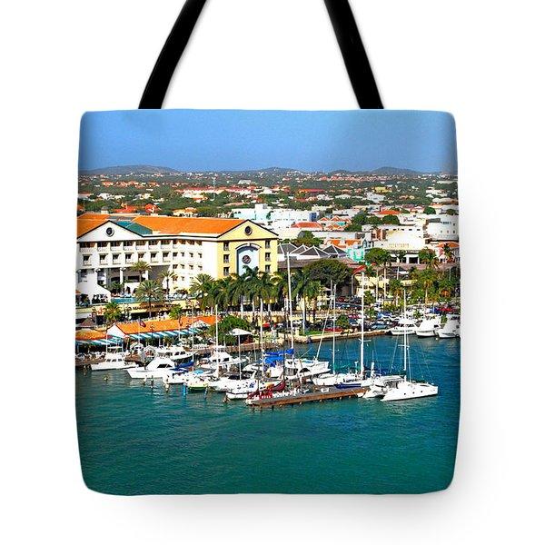 Oranjestad Aruba Tote Bag