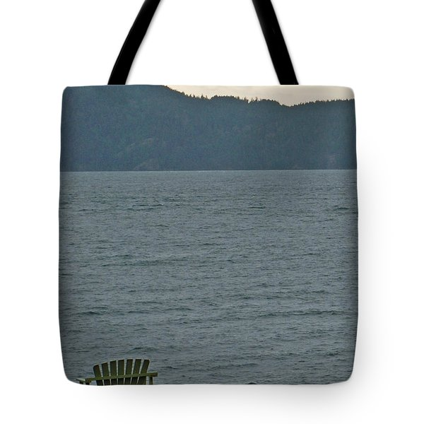 Orcas Island View Tote Bag