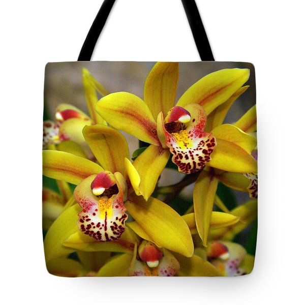 Orchid 9 Tote Bag