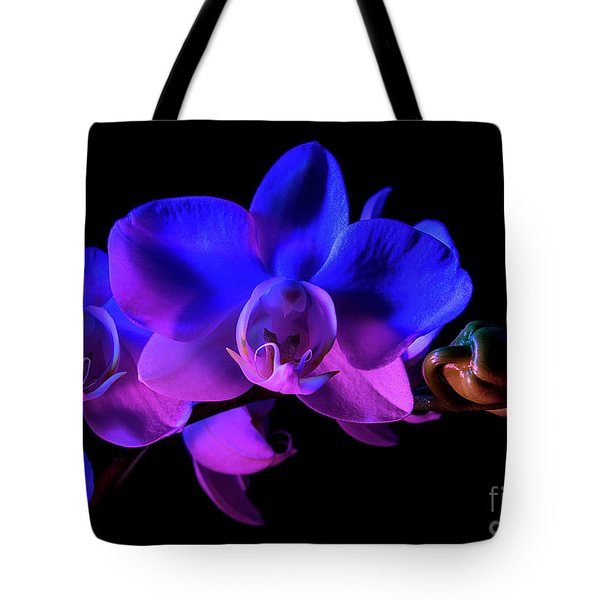 Tote Bag featuring the photograph Orchid by Brian Jones