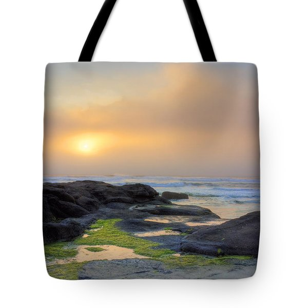 Oregon Coast Sunset Tote Bag