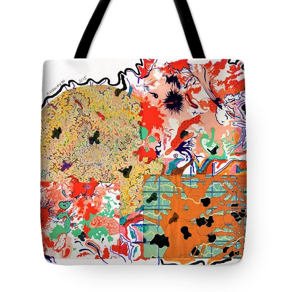 Organized Caos Tote Bag