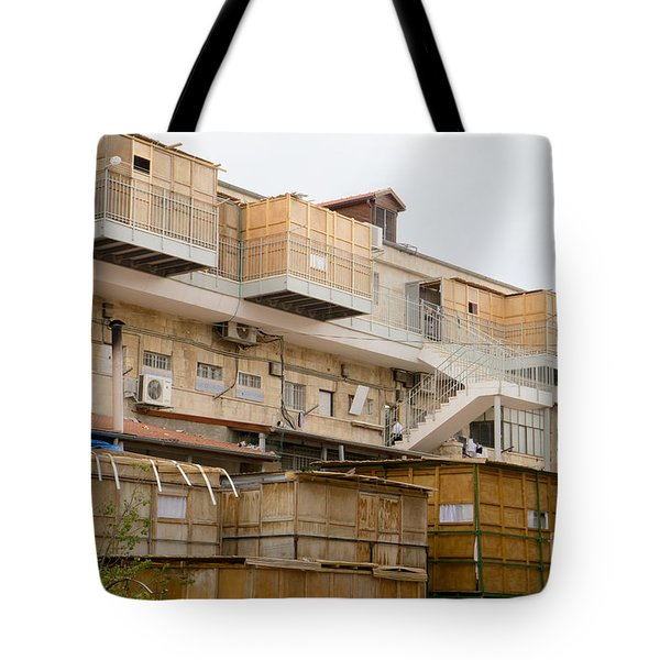 Orthodox Sukkahs In Jerusalem Tote Bag