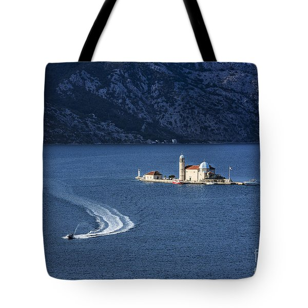 Our Lady Of The Rocks Church Tote Bag