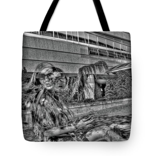 Out Of Phase 2 Tote Bag by Andy Lawless