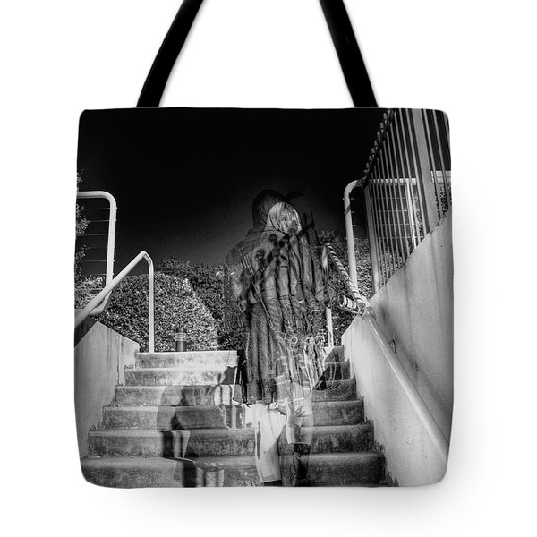 Out Of Phase Tote Bag by Andy Lawless