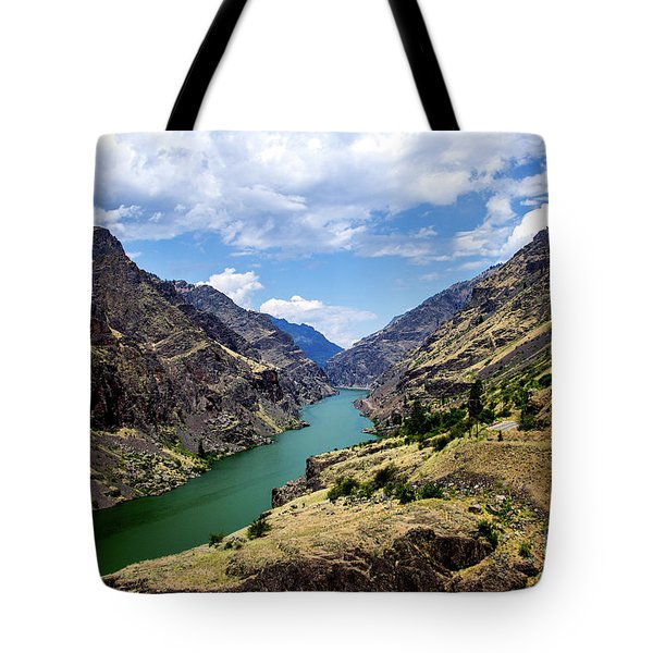 Oxbow Dam Tailwater Idaho Journey Landscape Photography By Kaylyn Franks  Tote Bag