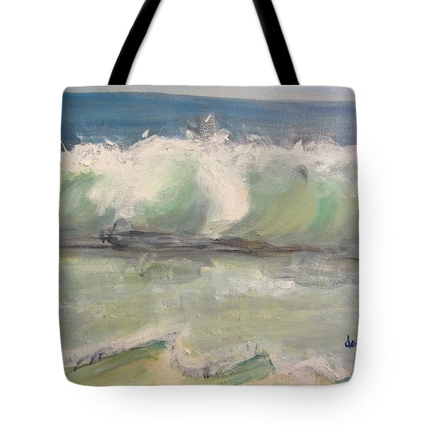 Pacific Wave Tote Bag