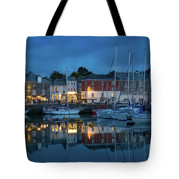 Tote Bag featuring the photograph Padstow Evening by Brian Jannsen