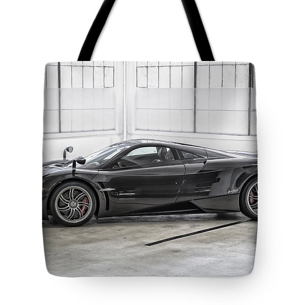 Tote Bag featuring the photograph Pagani Huayra by ItzKirb Photography