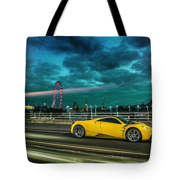 Pagani Huayra London Tote Bag