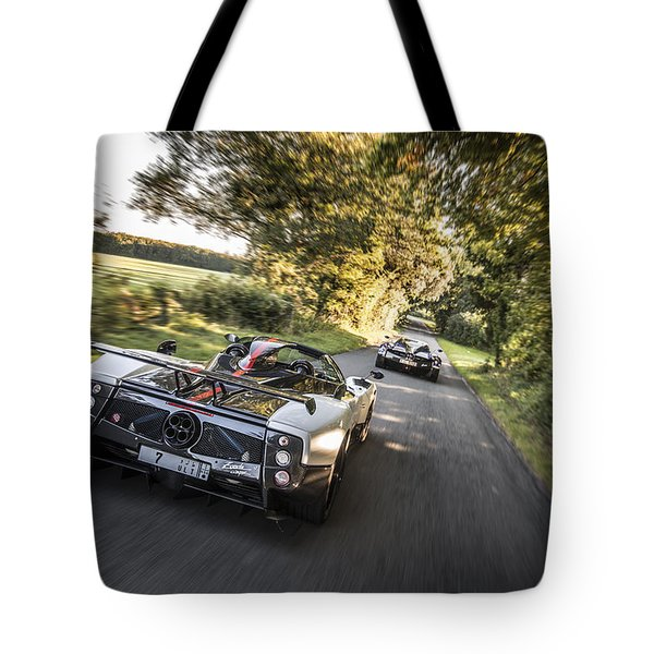 Pagani Road Trip Tote Bag