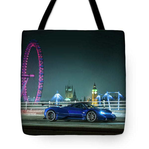 Pagani Zonda Md Tote Bag