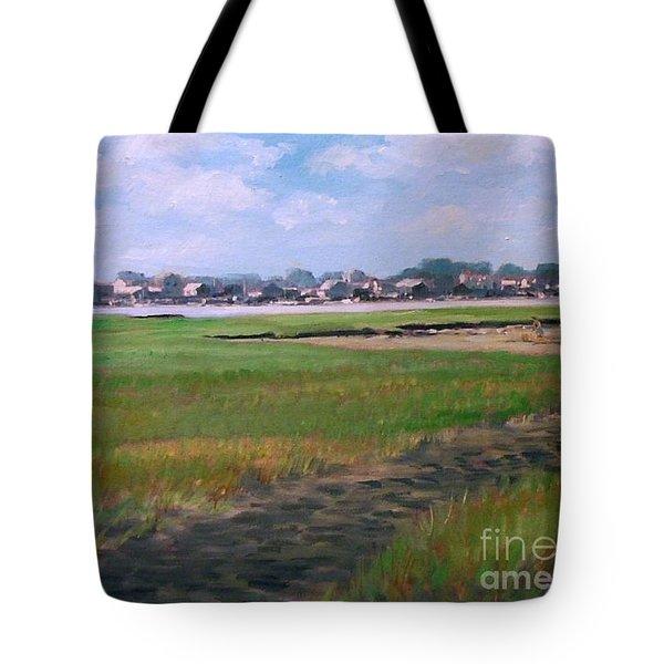 New England Shore Tote Bag
