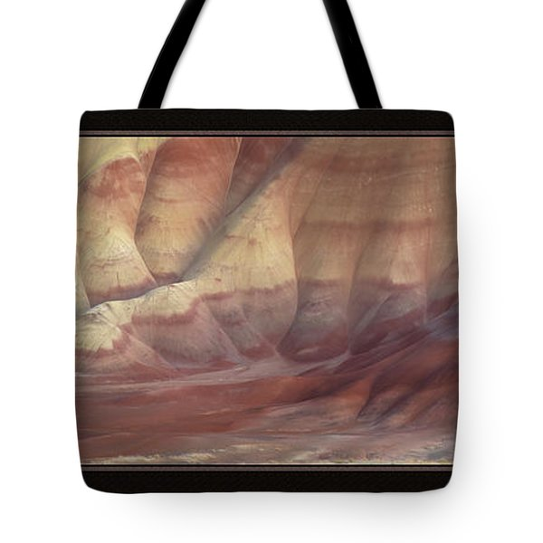 Painted Hills Triptych Tote Bag by Leland D Howard