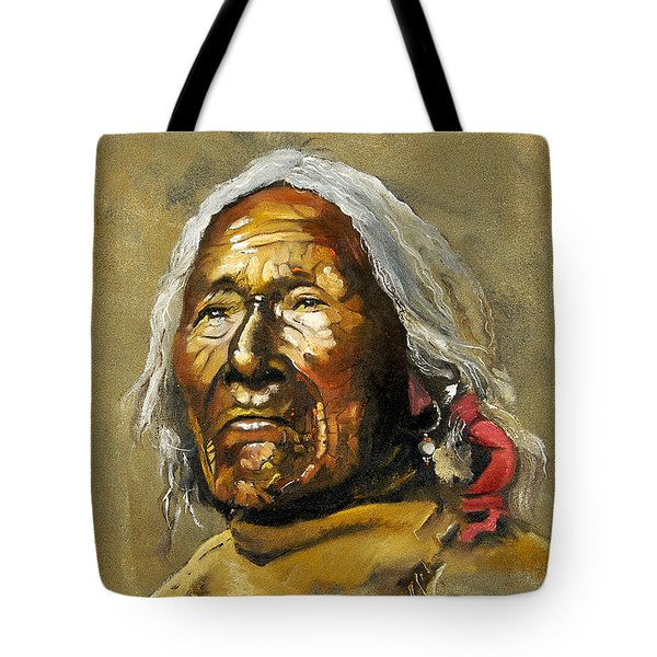 Painted Sands Of Time Tote Bag by J W Baker