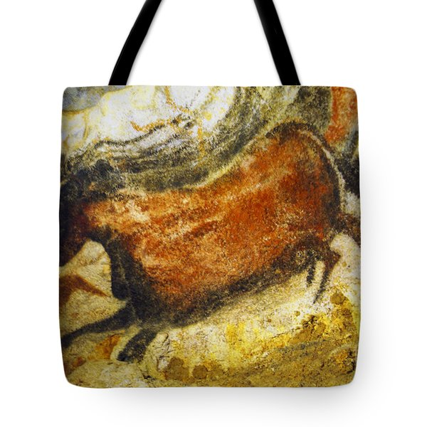 Paleolithic Cave Painting Tote Bag