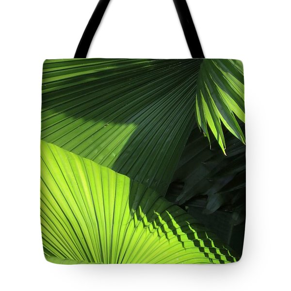 Palm Patterns Tote Bag